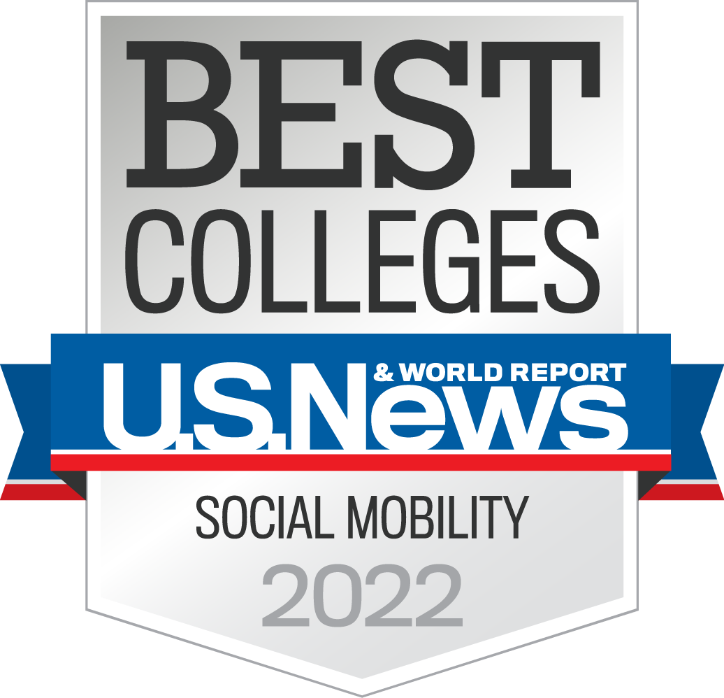 U.S. News & World Report Best Colleges Social Mobility 2022