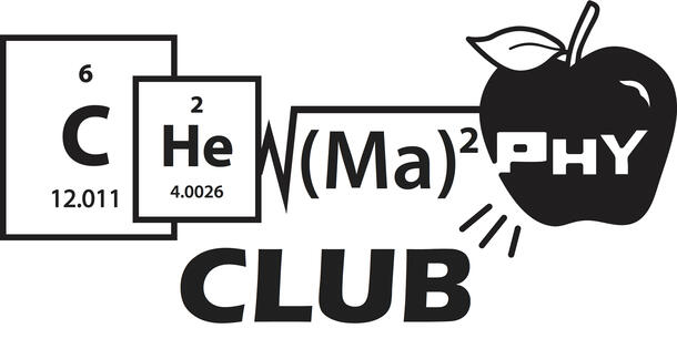 """Using different elements from the periodic table and mathematical function, the """"Chemaphy"""" club logo is create"""