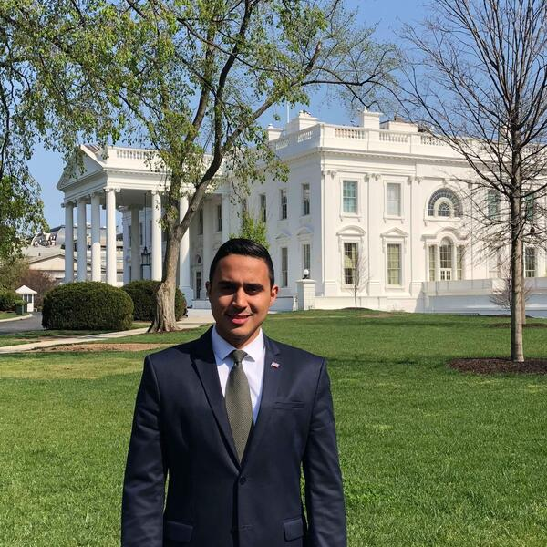 Cesar Puesan at the White House